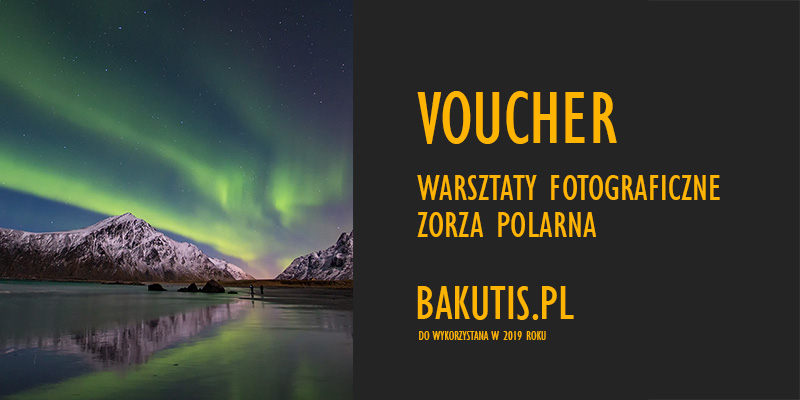 Voucher na warsztaty fotograficzne