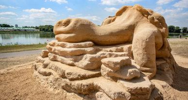 festiwal rzeźb piaskowych