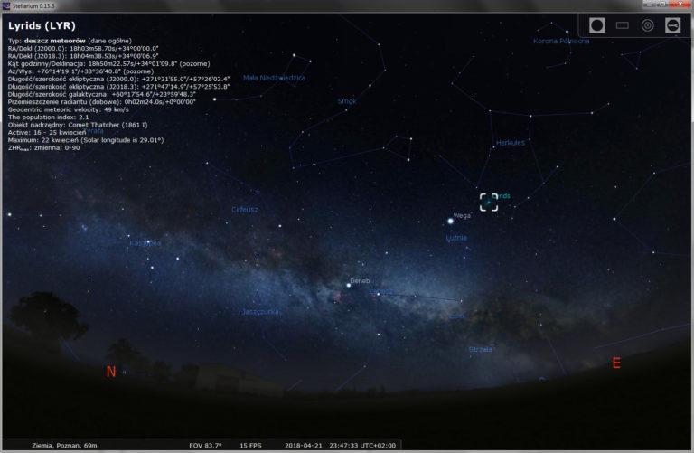 Lirydy – Gdzie ich szukać na nocnym niebie?