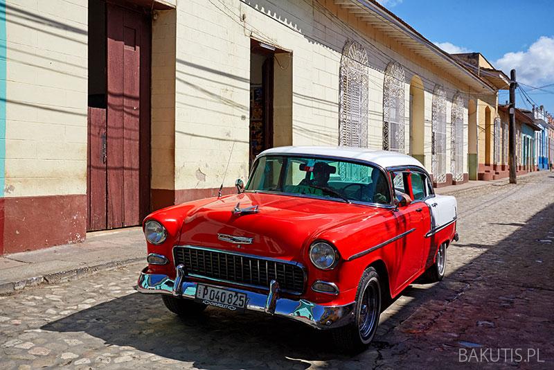 Samochoodem na Kubie