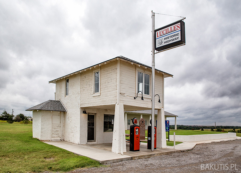 Loucille's Historic Highway Gas Station
