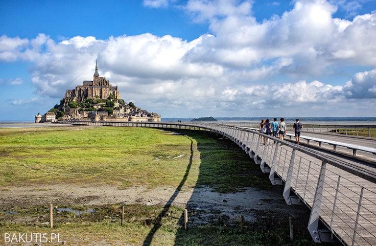Le Mont Saint Michel – magiczne miejsce na wybrzeżu Atlantyku