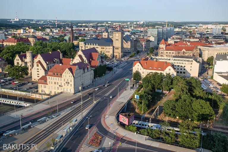 Korona Poznania 2 – widok na całe miasto