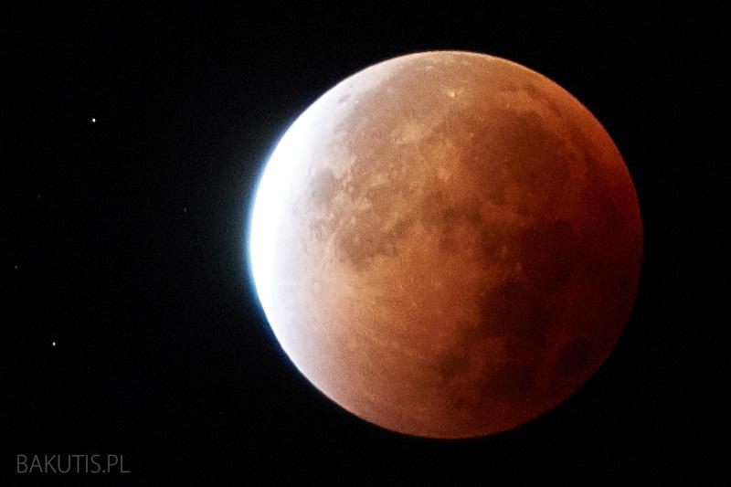Całkowite zaćmienie księżyca