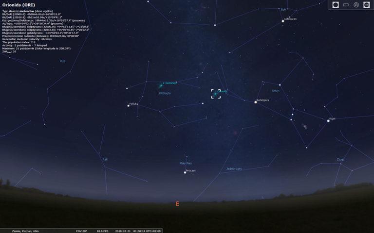 Orionidy – dobry powód do nocnych zdjęć