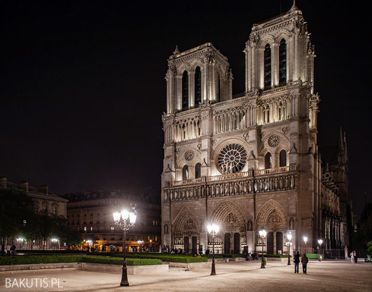 Katedra Notre Dame spłonęła