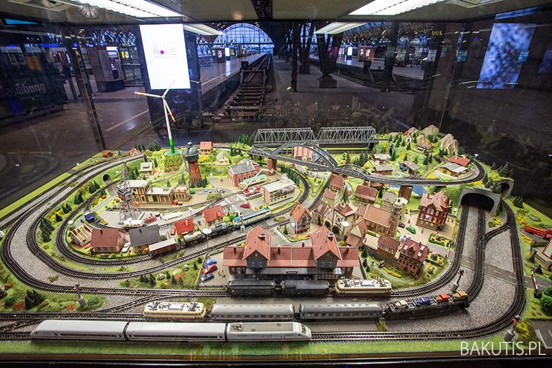 makieta kolejowa w Lipsku