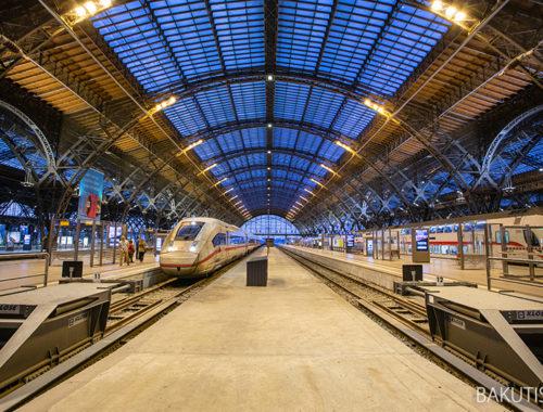 Dworzec kolejowy w Lipsku
