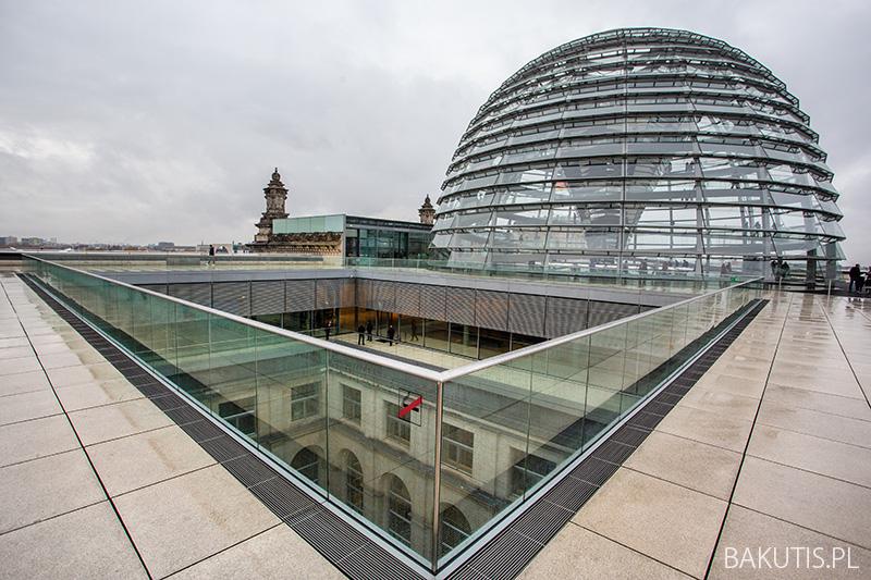 Punkt widokowy na Reichstagu