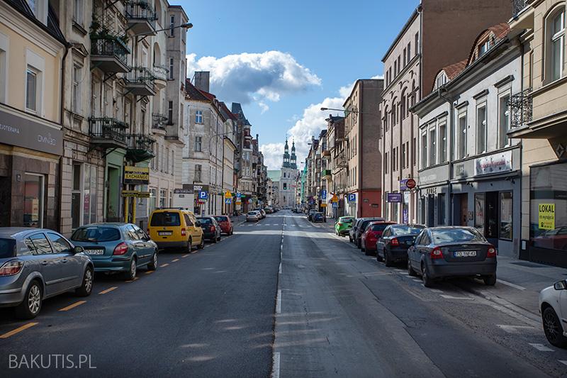 zupełnie puste ulice Poznania