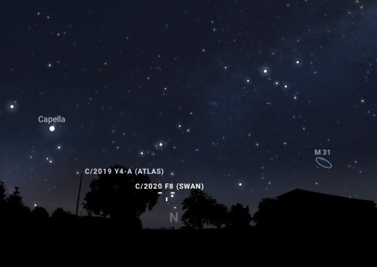 Kometa SWAN widoczna nad Polską – gdzie jej szukać?