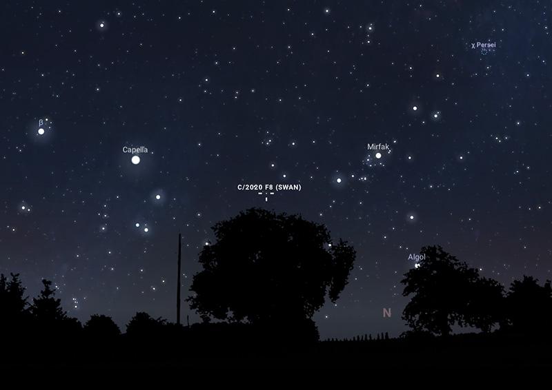 Kometa SWAN