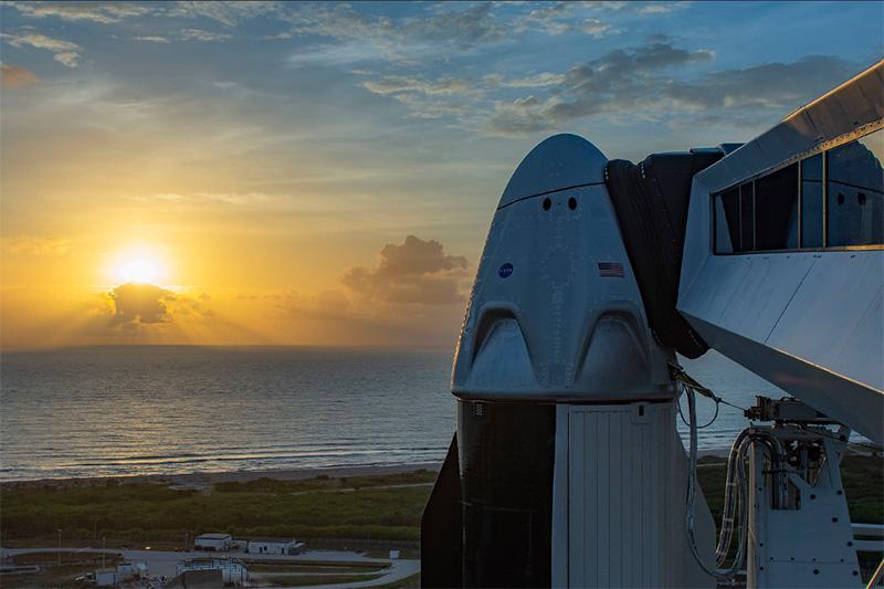Pierwsza załogowa misja SpaceX
