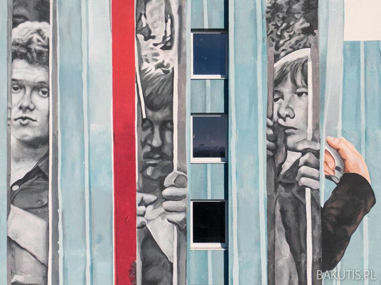 Nowy mural na Winogradach – seria solidarnościowa