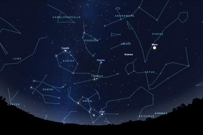 Orionidy 2020 – jesienne noce spadających gwiazd