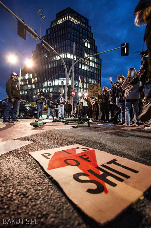 Blokada centrum Poznania
