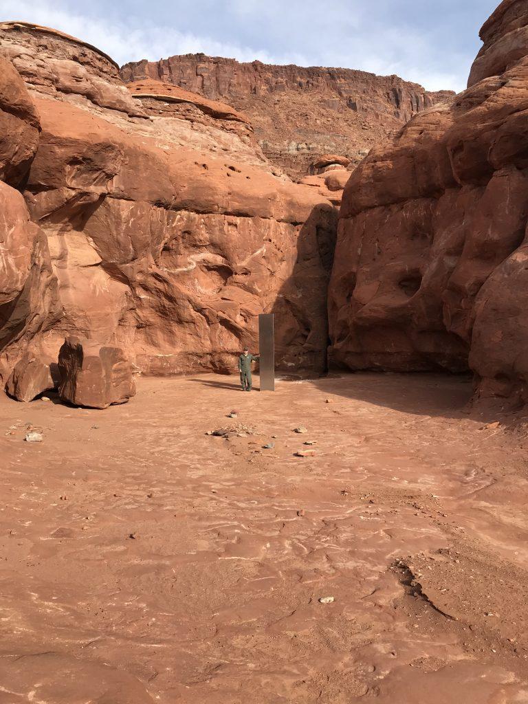 W Utah odkryto tajemniczy monolit
