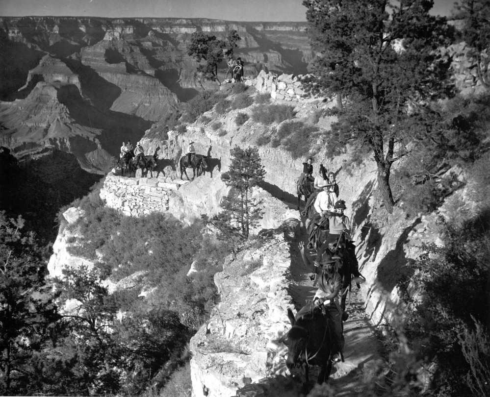 Grand Canyon 100 lat temu