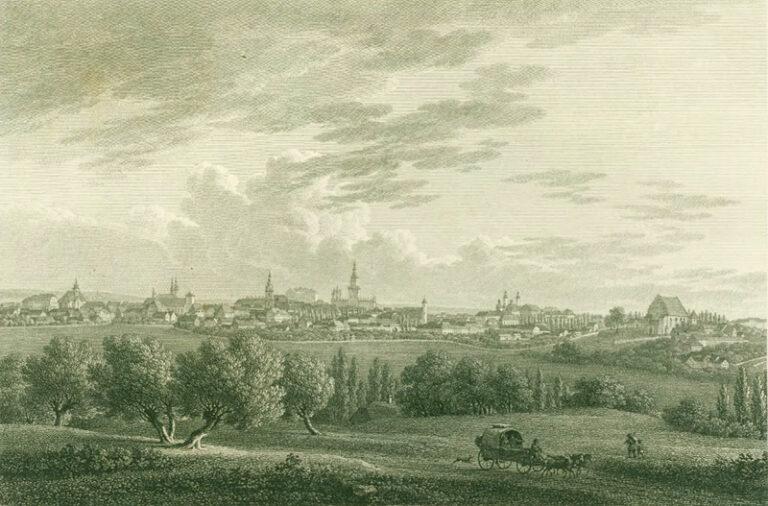Jak wyglądał Poznań 200 lat temu
