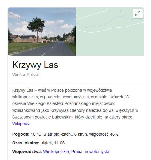 błędy na mapach googla