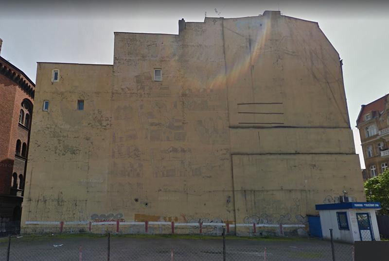 Powstaje najnowszy stary mural w Poznaniu