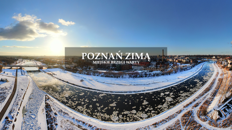 Zimowy Poznań 2021 – film 4K