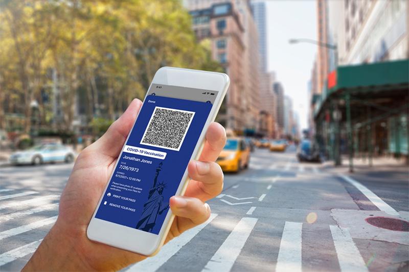 Excelsior Pass - covidowy paszport by zwiedzić Nowy Jork