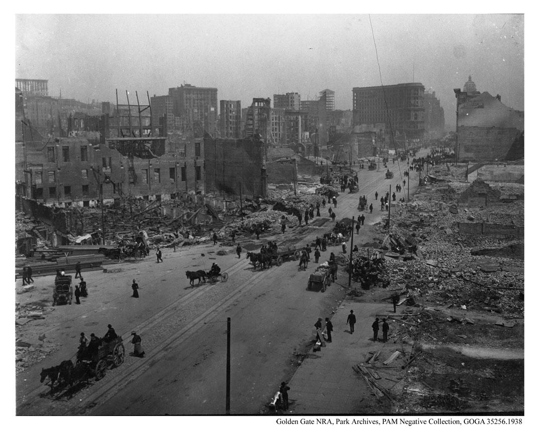 San Francisco 100 lat temu