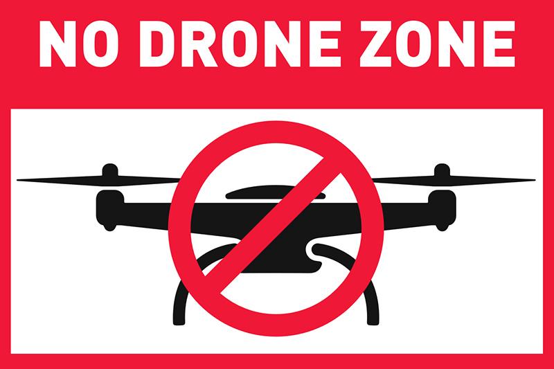 kary za latanie dronem w USA